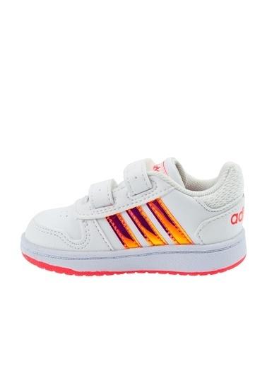 adidas Hoops 2.0 Cmf I Çocuk Günlük Ayakkabı Fw7614 Beyaz